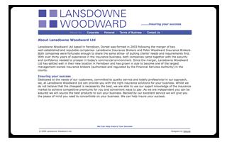 Lansdowne Woodward